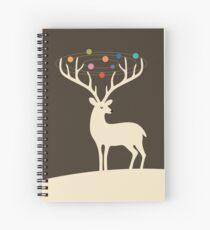 Cuaderno de espiral Mi universo de ciervos