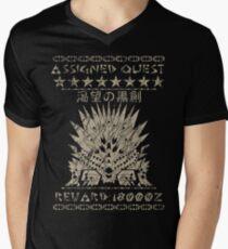 Assigned Quest - Nergigante  Men's V-Neck T-Shirt