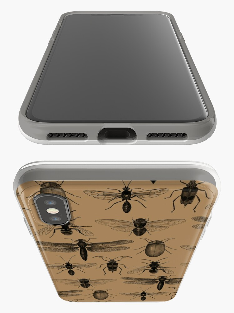 Alternate view of Entomology studies pattern iPhone Case & Cover