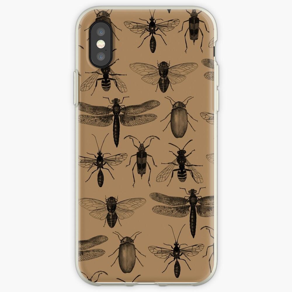 Entomology studies pattern iPhone Case & Cover