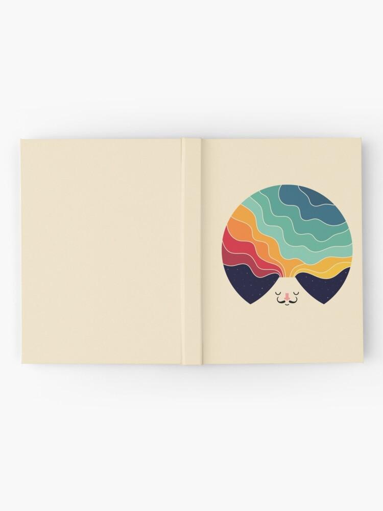Alternative Ansicht von Denk weiter kreativ Notizbuch