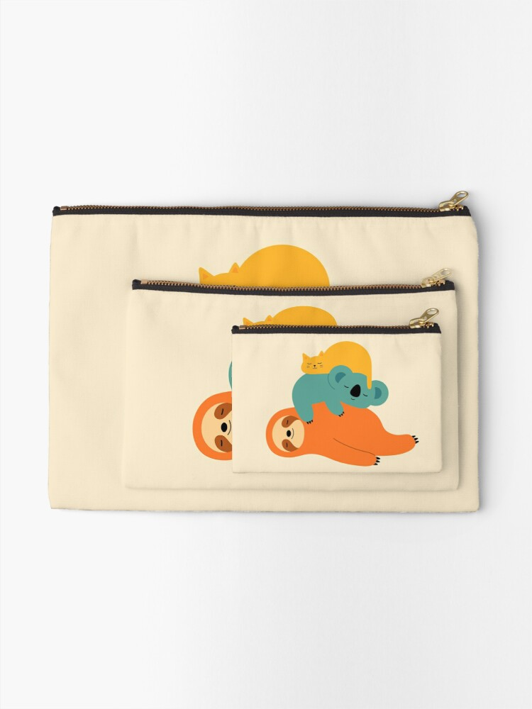 Alternate view of Being Lazy Zipper Pouch
