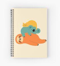 Being Lazy Spiral Notebook