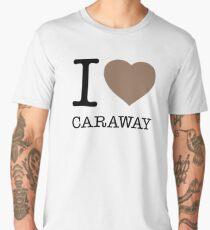 I ♥ CARAWAY Men's Premium T-Shirt
