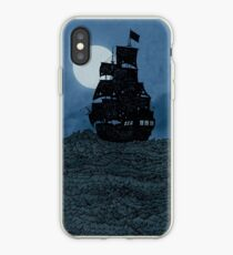 Sailing Under The Moon iPhone Case