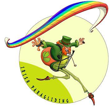 Irish Paragliding by steveham