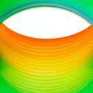 Abstraktes Regenbogen-Auge von MMPhotographyUK