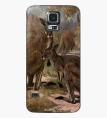 Vintage Kangaroo Painting (1909)  Case/Skin for Samsung Galaxy