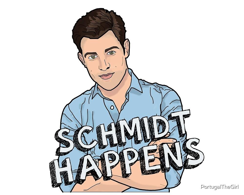 Schmidt Happens by PortugalTheGirl