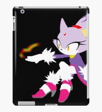 Sonic the hedgehog - Simplistic Blaze the Cat iPad Case/Skin