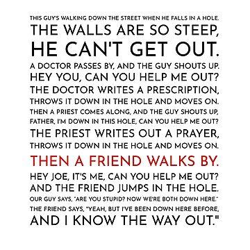 Guy Falls Into a Hole - Leo McGarry's Speech by littlemamajama