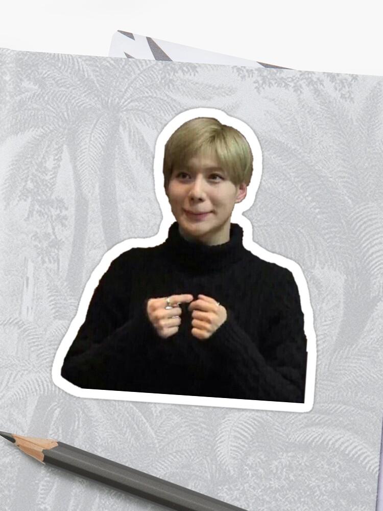 Taemin Meme Sticker Von Ohgeezokay Redbubble