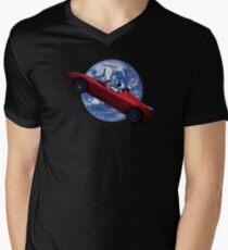 Star Man  Men's V-Neck T-Shirt