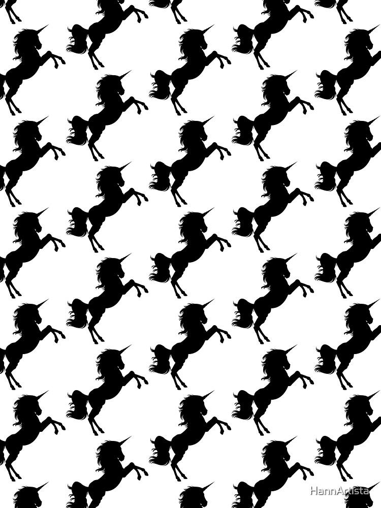 Unicorn Silhouette by HannArtista