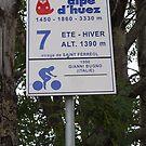 Alpe d'Huez by Catrin Stahl-Szarka