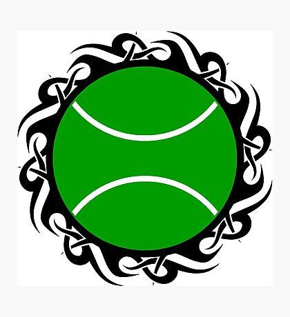 tennis : tribalz Photographic Print