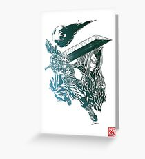 Final Fantasy VII - Soldiers' Legacy Greeting Card