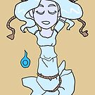Drowned Ghost Girl Will-O'-the-Wisp CHIBI SD MONSTER GIRLS Series I by angelasasser