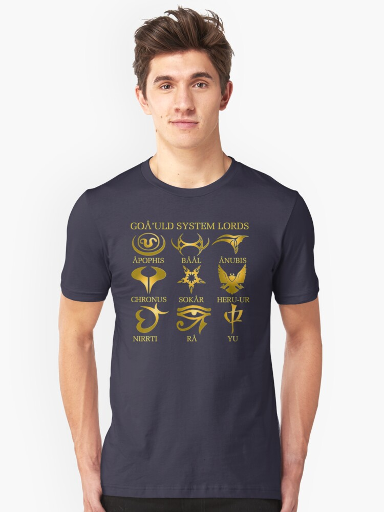 Goa'uld System Lords Unisex T-Shirt Front