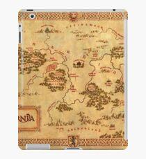 World Map of Narnia High Quality iPad Case/Skin