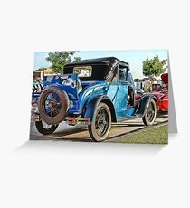 Classic Auto Series # 4 Greeting Card