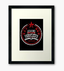 USCM Colonial Marines Framed Print