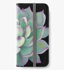 Succulent plant iPhone Wallet/Case/Skin