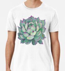 Sukkulente Pflanze Premium T-Shirt