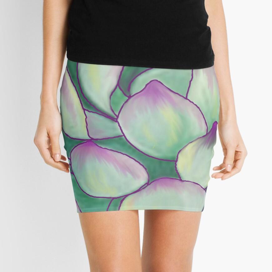 Succulent plant Mini Skirt