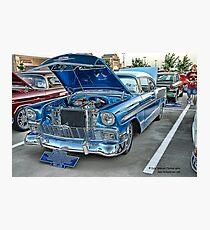 1956 Chevy BelAir Classic Auto Series # 13 Photographic Print