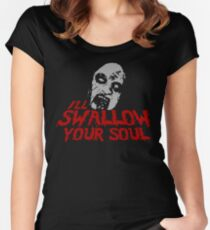 I'll Swallow Your Soul Women's Fitted Scoop T-Shirt