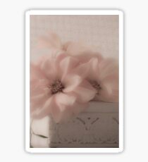Dahlias - Oh So Soft! Sticker