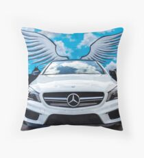 Angel of CLA45 AMG Throw Pillow