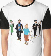 Tintin + Friends Graphic T-Shirt