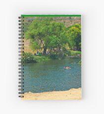 Enjoying a Grand River Spiral Notebook