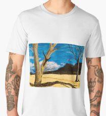 Australian Desert Landscape Men's Premium T-Shirt