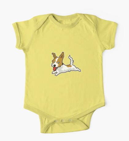 Happy Jack Russell Terrier Kids Clothes