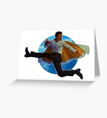 Lando Calrissian Greeting Card