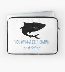 Sei ein Hai Laptoptasche