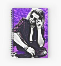 Austin Porter Purple Spiral Notebook