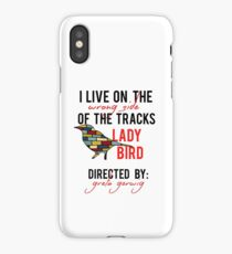 I Live on the Wrong Side of the tracks iPhone Case/Skin