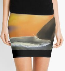 Round Cliff Mini Skirt