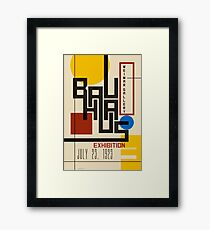 Bauhaus Poster I Framed Print