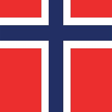 Norway Flag by designseventy