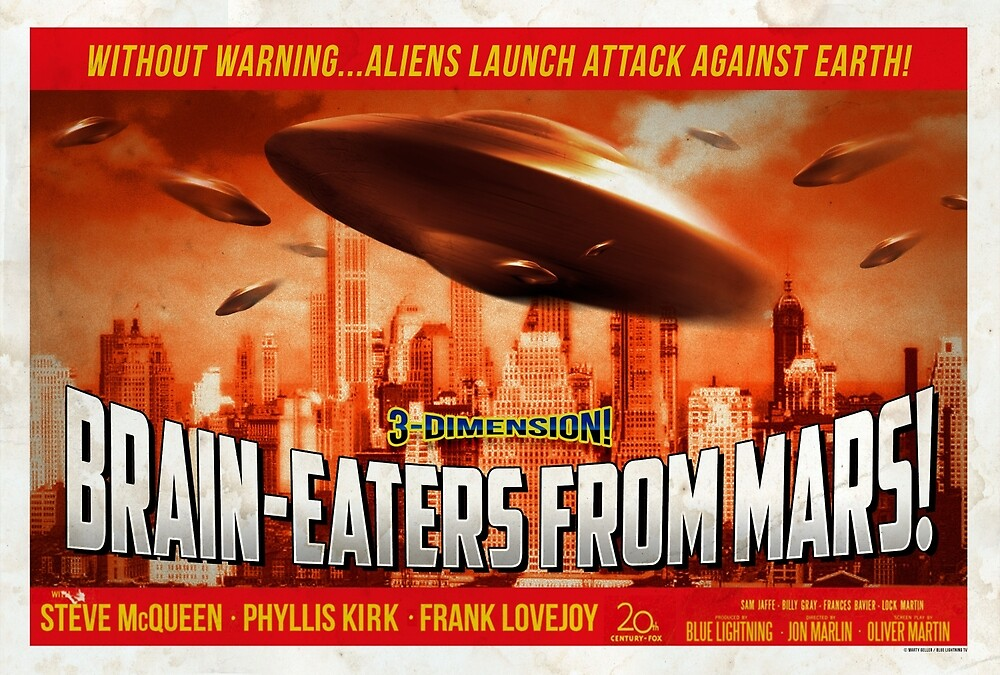 """Brain-Eaters from Mars!""  by BLTV"
