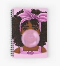 Bubble Gum Spiral Notebook