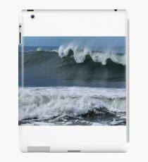 Waves at Newcastle Beach NSW iPad Case/Skin