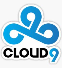 Cloud 9 Sticker