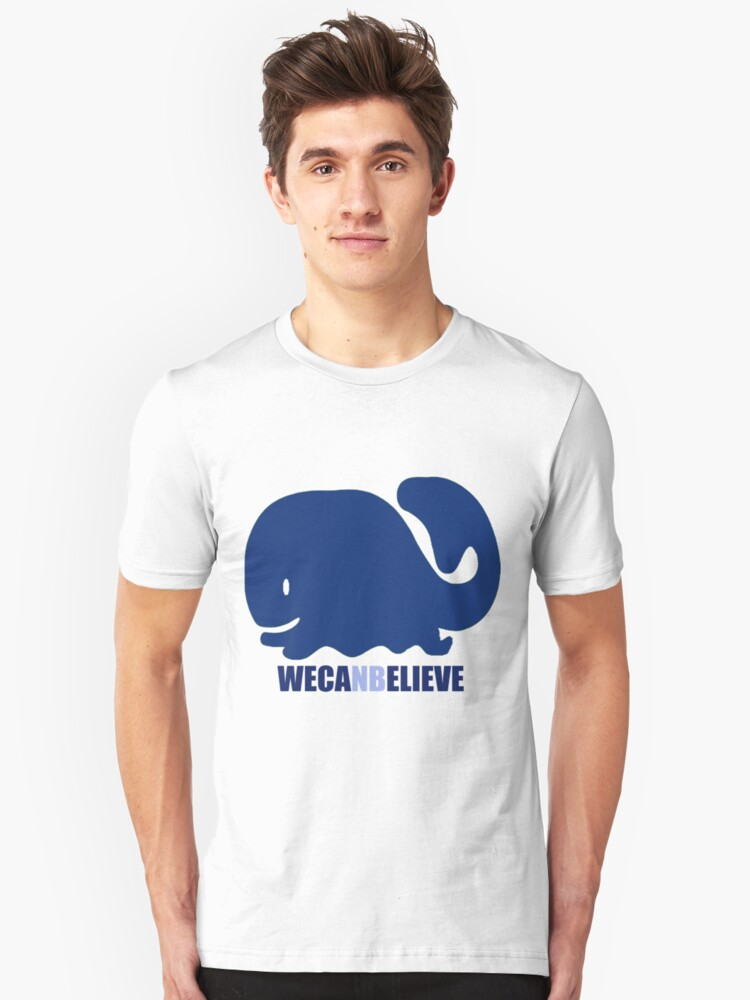 We Can Believe (New Bedford) Unisex T-Shirt Front