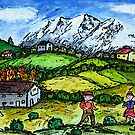 Heidi Country by Monica Engeler